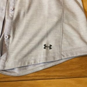 Under Armour Tops - Woman's Under Armour button up long sleeve.